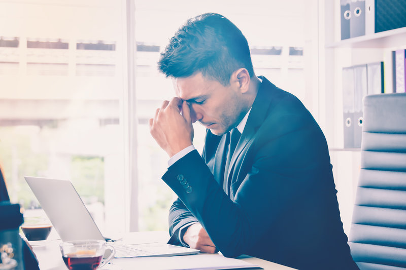 Praca przy biurku nie służy zdrowiu